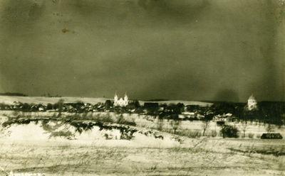 Švenčionių miesto vaizdas