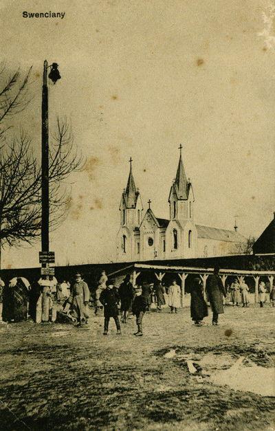 Švenčionių miesto turgaus aikštė