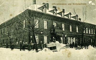 Pastatas Švenčionių miesto centre. Dabartinis kultūros centras