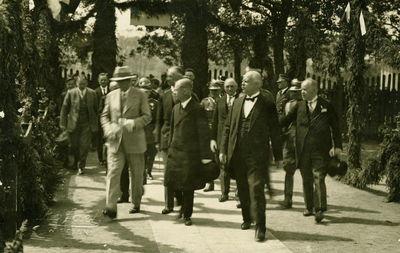 Lenkijos prezidento Ignaco Moscickio vizitas