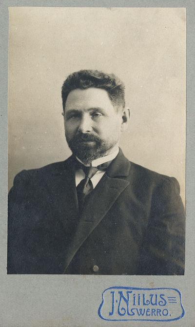 Notaro Jono Kentros (1869–1942) portretas