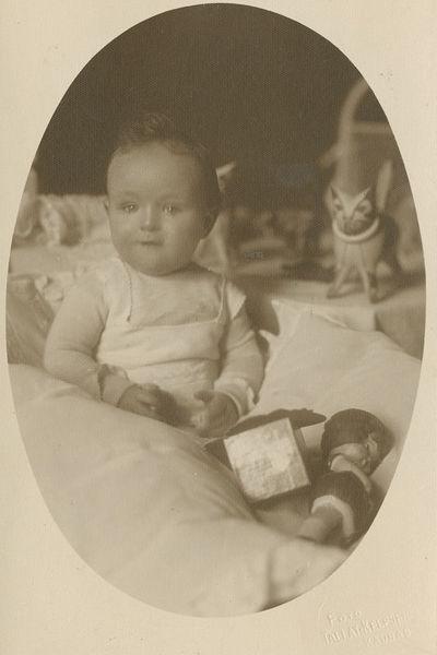 Kūdikio Marijos Dymšaitės portretas