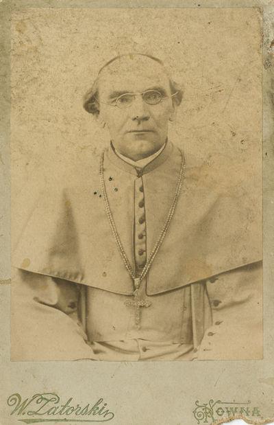 Žemaičių vyskupo Pranciškaus Karevičiaus (1861–1945) portretas