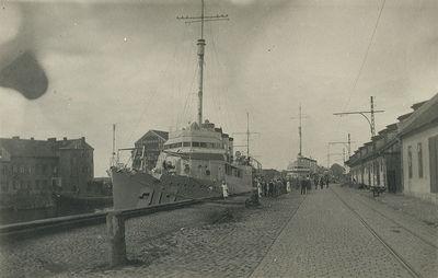 Amerikiečių karo laivai Klaipėdos uoste