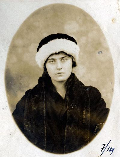 Antaninos Tiškevičiūtės (1903–1921) portretas