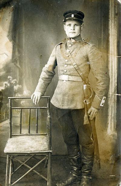 J. Roza, 1-jo husarų Lietuvos Didžiojo Etmono Jonušo Radvilos pulko IV eskadrono husaras