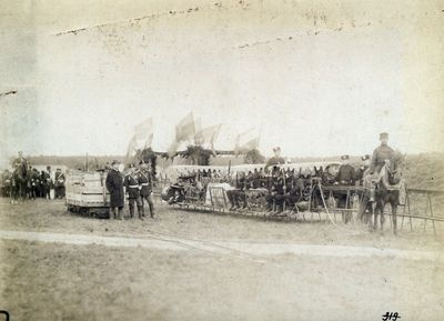 Rusijos imperijos karinis dalinys mokymuose