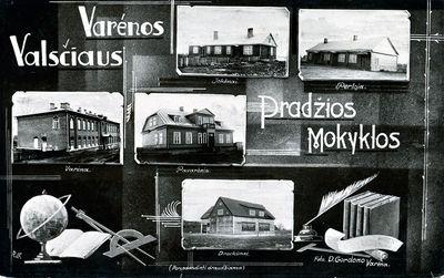 Varėnos valsčiaus pradžios mokyklos