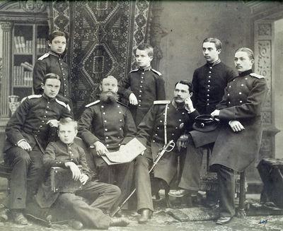 Grafai Tiškevičiai – Rusijos imperijos kariuomenės karininkai ir kariūnai