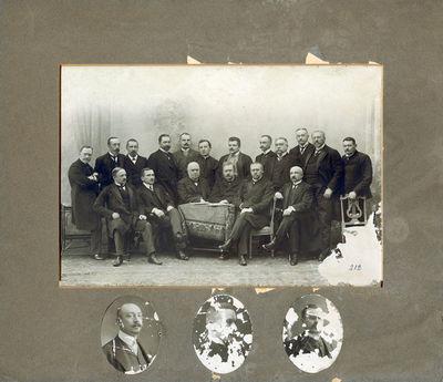 Aleksandras Tiškevičius su Rusijos imperijos visuomenės ir politikos veikėjais