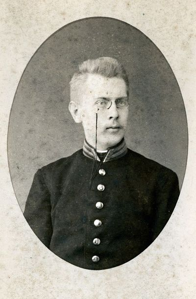 Antanas Tiškevičius (1866–1920), grafas, Rusijos imperijos karo mokyklos kadetas