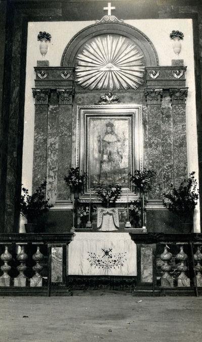 Šv. Kazimiero koplyčios altorius