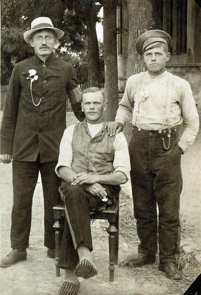 Rusijos imperijos kareiviai Vokietijos nelaisvėje