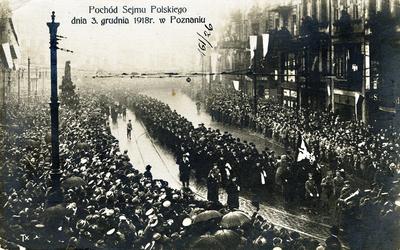 Lenkijos seimo 1918 m. gruodžio 3 d. demonstracija Poznanėje