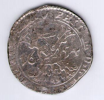 Patagonas. 1654 m. Ispanijos Nyderlandai. Brabanto provincija. Pilypas IV (1621-1665)