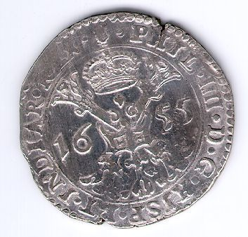 Patagonas. 1655 m. Ispanijos Nyderlandai. Brabanto provincija. Pilypas IV (1621-1665)
