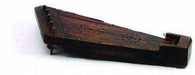 Penkiastygės kanklės. 1860 m.