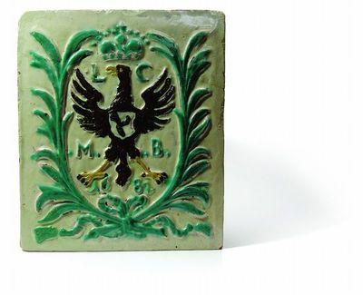 Koklis su Liudvikos Karolinos Radvilaitės inicialais