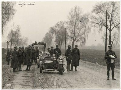 Lietuvos kariuomenė įžengia į Vilnių