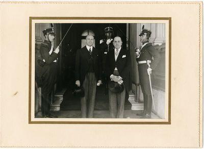Kazimiero Graužinio kredencialų įteikimo iškilmės Buenos Airėse