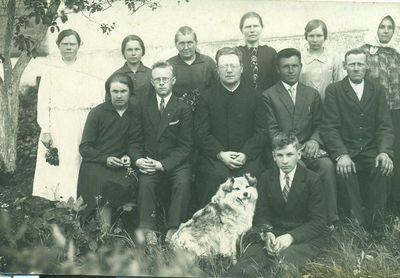 Grupė žmonių Antašavoje