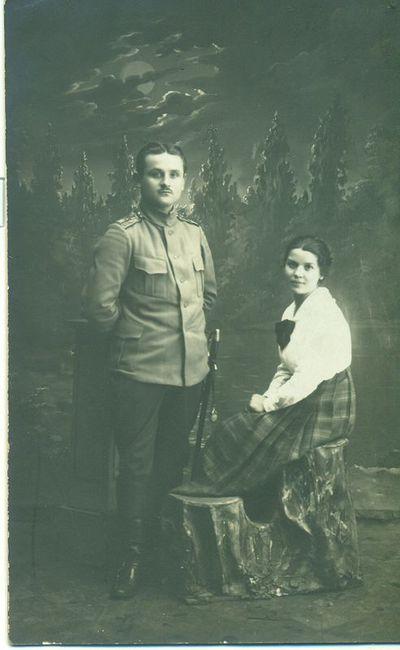 Elvyra Glemžaitė ir Lionginas Indreika