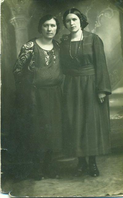 Emilija Eidukaitė(kairėje) ir Petronėlė Klivickaitė