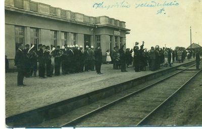 Kupiškio geležinkelio stotyje