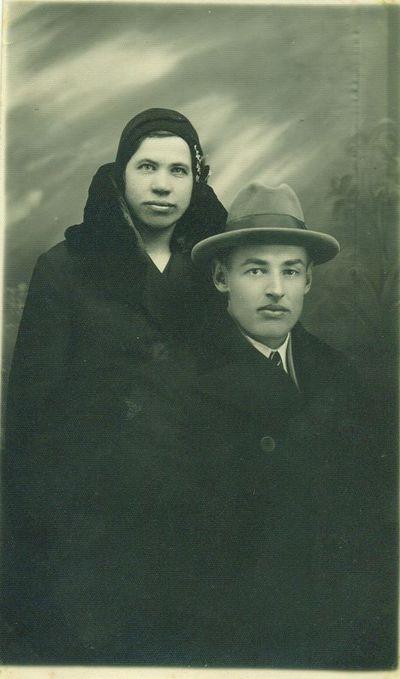 Uršulė Gaidimauskaitė Seibutienė ir jos vyras Petras Seibutis