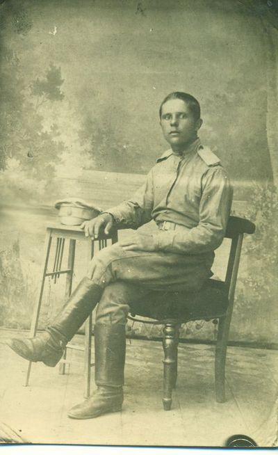 Skapiškėnas Benediktas Vaičiūnas carinėje kariuomenėje