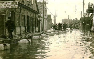Potvynis Jonavos g., Kaunas