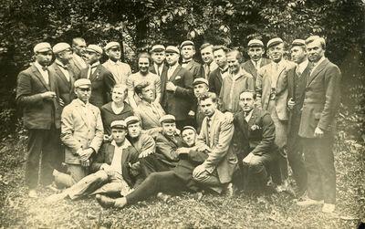 Studentai iš P. Vasinausko grupės
