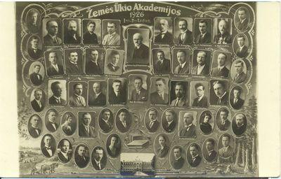 Žemės ūkio akademijos baigimo vinjetė, pirmoji laida