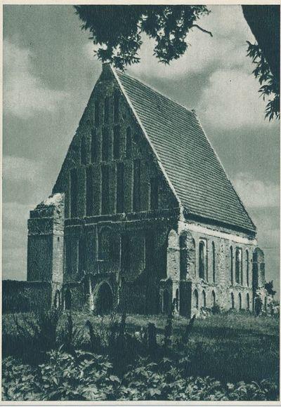Kauno rajonas.  Šv. Jono bažnyčia Zapyškyje
