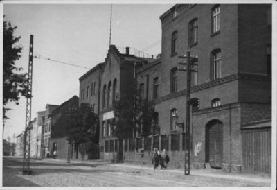 Klaipėda. Teismo ir kalėjimo kompleksas Malkų (dabar Naujoji uosto) gatvėje