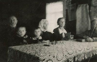 Jurgio Šlapelio sesers Gudonienės šeima