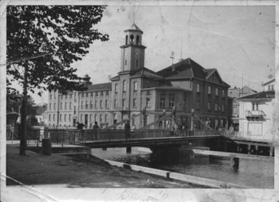 Pramonės ir prekybos rūmai prie Biržos tilto Klaipėdoje