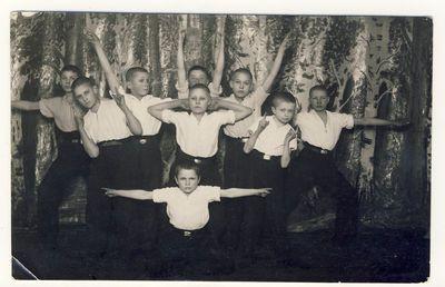 Anykščių vidurinės mokyklos moksleiviai