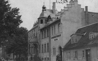 Klaipėdos krašto gubernatoriaus rūmai Liepų gatvėje