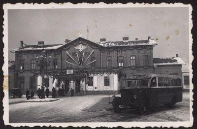 Klaipėda. Geležinkelio stotis