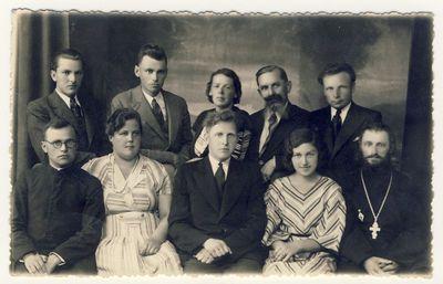 Anykščių vidurinės mokyklos 1934–1935 mokslo metų pedagogų taryba