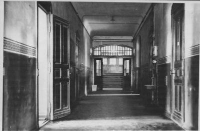 Klaipėda. Lietuvių gimnazijos patalpų vidus