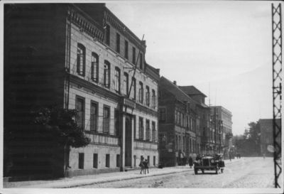 Klaipėda. Friedricho Vilhelmo (dabar Tiltų) gatvė