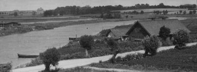 Kalniškių kaimo sodyba prie Dangės upės