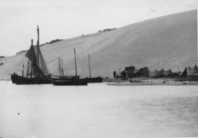 Žvejų laivai Nidos uoste