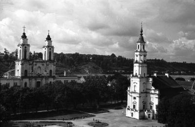 Kauno senamiesčio panorama