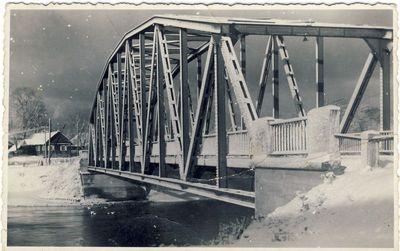 Tiltas per Šventąją Anykščiuose