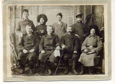 Anykštėnai Rusijos–Japonijos karo dalyviai