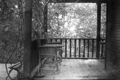 Varvaros ir Grigorijaus Puškinų namo Markučiuose veranda