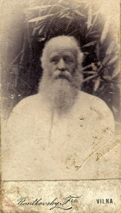 Jaunesniojo poeto Aleksandro Puškino sūnaus Grigorijaus (1835–1905) portretas